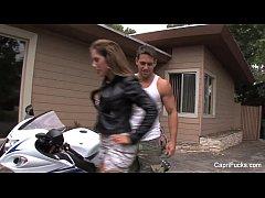 Capri Cavanni & The Biker