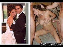 Real Brides Sucking!