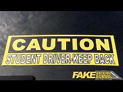 Fake Driving School New driver gets a crash cou...