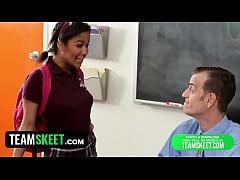 InnocentHigh - Ebony Schoolgirl Loni Legend Fuc...