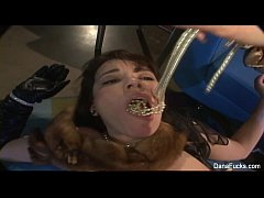 Dana DeArmond gets dildo fucked