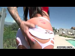 Karmens delectable pussy gets banged hard by Je...