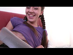 FirstAnalQuest.com - HARDCORE ANAL SEX WITH A GORGEOUS SKINNY TEEN GIRL