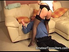Wife punished her husband with her pussy