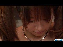 Buruma Aoi amazes with her big tits and smooth ...