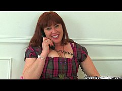 British Her Hairy Janey Milf Works