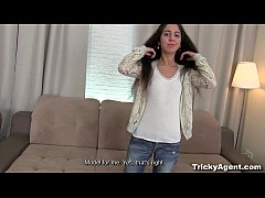 Tricky Agent - Camera loves her pussy