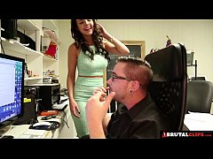 BrutalClips - Dillion was just too horny to wai...