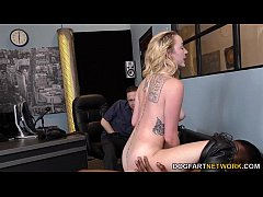 Iris Rose gets creampied by BBC in front of her...