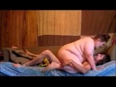 Fat Teen Wife Rides Husband Dick On Couch Orgas...