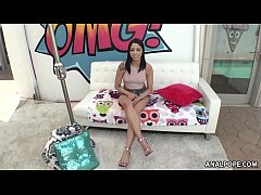 Vanessa Sky first rimjob, first anal and first ATM