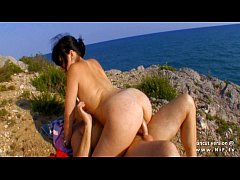 Amateur french whore banged and facialized on a...