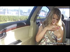 Hottie blonde Dixie gets banged hard by the str...