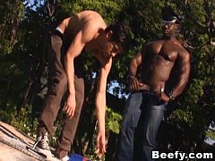 Horny Muscle Gay Anal Fucking