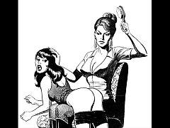 Girl vs girl catfight tribbing bondage spanking...