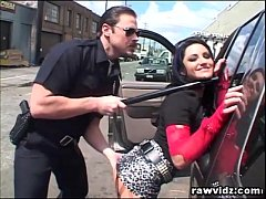 Hot Thief Caught By Pervert Cop