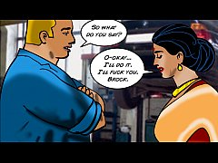 Velamma Episode 42 : Velamma Gets Greasy and Dirty with the Mechanics!