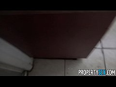 PropertySex - Landlord bust super hot chick squatting in apartment