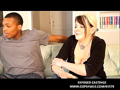 NEWBIE WHITE TEEN TAKES A BIG BLACK COCK IN INT...