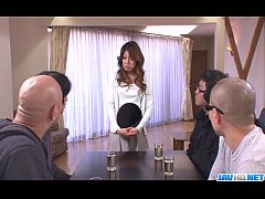 Hot milf Reina Nishio shows off in nasty manners