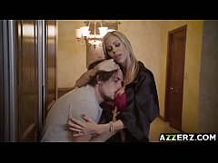 Busty MIILF Alexis Fawx got fucked in the kitchen