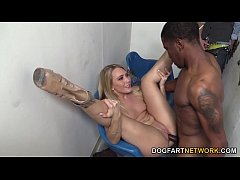 AJ Applegate Goes Black In Front Of Her Cuckold