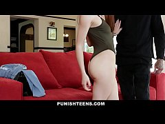 PunishTeens - Sexy Red Head Submits To Pain & B...