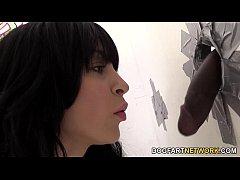 Sandra Luberc Having Fun With A Stranger's Black Cock