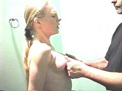 Many Girls Get tits slapped