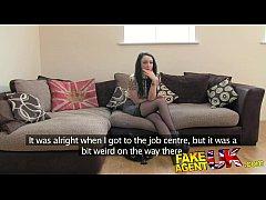 FakeAgentUK Tattooed minx surprises agent with amazing fucking skills