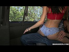 Veronica Rodriguez invades the bangbus