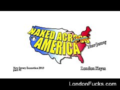 """""""Naked Across America"""" - New Jersey Part 1"""
