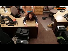 Milf boned by horny pawn man to bail her hubby ...
