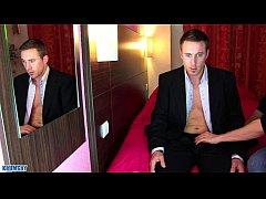 Marc a real Str8 banker get wanked his huge coc...