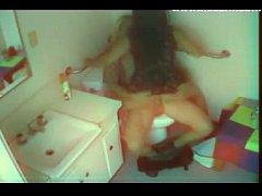 Hidden Cam Bathroom Sex