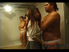 Bukkake Highschool Lesson 8 2/4 Japanese uncens...