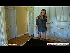 Blonde cutie Natalia Starr take cock