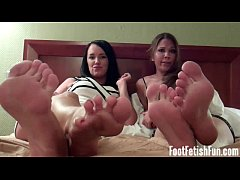 Lick and suck each one of our sweet little toes