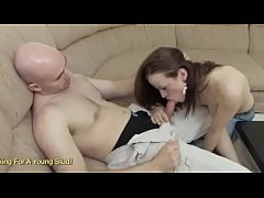Busty redhead Housewife Fucks Her Husbands Frie...