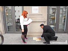 Big Booty BBW Redhead Tiffany Star Fucks Her Ne...