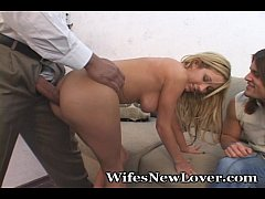 Monster-Sized Cock Splits Petite Wifey