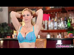 Twistys - Julia Ann starring at The Perfect Bar...