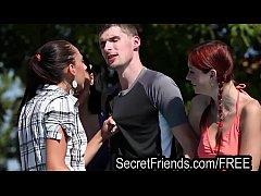 Pool Party Orgy 2 guys 5 chicks Secret Friends