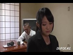 Young Japanese Lady Office