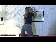 marina angel teases you in leggings PREVIEW watermarked