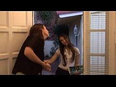 Door to door sales girl barely legal MUST SEE