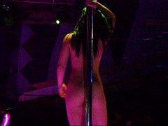 Show no Teatro Orion com a modelo Ariana Gurenkoff