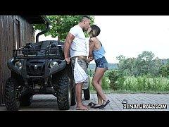 sexy hardcore erotica on the farm with mona kim