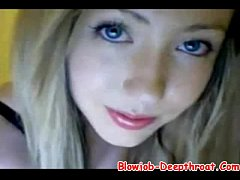 Cute Teen Showing With Her Boyfriend On Cam - B...