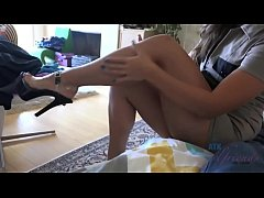 Kelsi Monroe Footjob and Blowjob